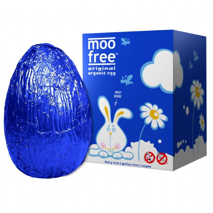 Original Easter Egg - Organic Dairy Free Milk Chocolate Alternative MOO FREE 100g